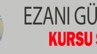 """EZANI GÜZEL OKUMA KURSU"" SONA ERDİ"