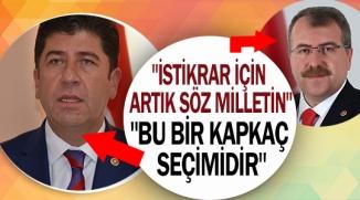 """""""24 HAZİRAN ÜLKEMİZ İÇİN DEMOKRASİ BAYRAMI OLACAKTIR"""""""