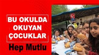 """İLKOKUL ÖĞRENCİLER MANGAL PARTİSİ İLE """"HOŞGELDİN BAHAR"""" DEDİ"""