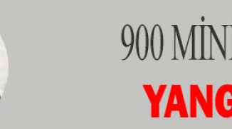 900 MİNİK ÖĞRENCİYE YANGIN EĞİTİMİ
