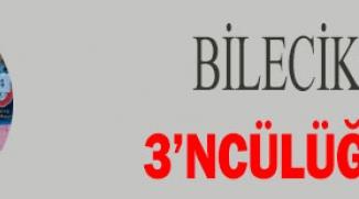 BİLECİK'E TÜRKİYE 3'NCÜLÜĞÜ İLE DÖNDÜ