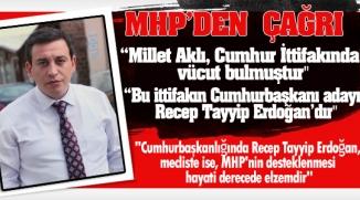 MHP'DEN SEÇMENLERİNE ÇAĞRI