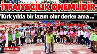 İTFAİYECİLİK HAFTASI'NDA BİLGİLENDİRME STARDI