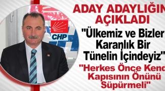 CHP'lİ KORKMAN ADAY ADAYLIĞI AÇIKLADI