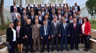 İL PROTOKOL ÜYELERİ MUHTARLARLA BİR ARAYA GELDİ
