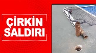 SPOR ALANLARINA ÇİRKİN SALDIRI
