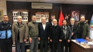 OSMANELİLERE HİZMET DERNEĞİ'NDEN BAŞKAN ŞAHİN'E ZİYARET