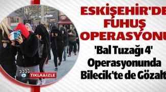 ESKİŞEHİR'DE  FUHUŞ  OPERASYONU