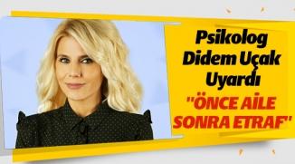 KİŞİLERE 'ÖNCE AİLENE YETİŞ' UYARISI