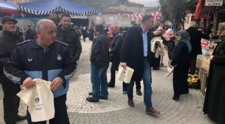 'PLASTİK POŞETE HAYIR' KAMPANYASINA DESTEK