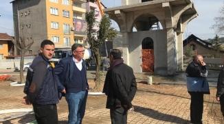YILDIZ PARKI'NDA YAPILAN TUVALETLER VE MESCİT HİZMETE GİRDİ