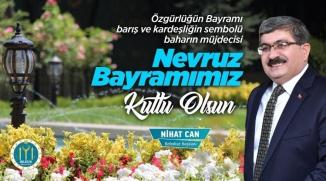 BAŞKAN CAN'IN NEVRUZ BAYRAM'I MESAJI