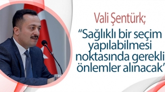 BİLECİK'TE MAHALLİ İDARELER SEÇİMİ TOPLANTISI