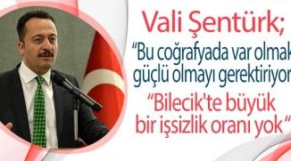 VALİ ŞENTÜRK İŞ ADAMLARINA SESLENDİ