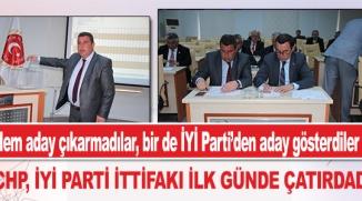 BİLECİK'TE CHP, İYİ PARTİ İTTİFAKI İLK GÜNDE ÇATIRDADI