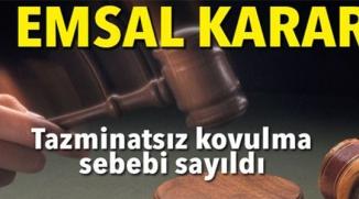 EMSAL KARAR !