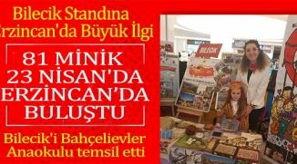 ERZİNCAN'DA BİLECİK'İ TEMSİL ETTİ