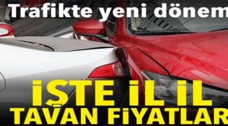 TRAFİKTE YENİ DÖNEM !