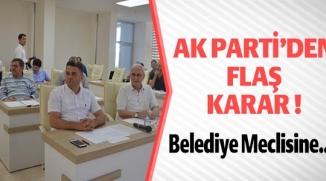 AK PARTİ'DEN FLAŞ KARAR !