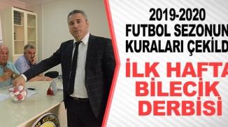 BİLECİK 1. AMATÖR LİG 2019-2020 FUTBOL SEZONU KUR'ALARI ÇEKİLDİ