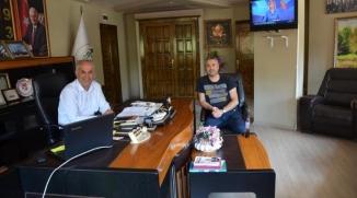 BİLECİKSPOR BAŞKANI AVCI'DAN BAŞKAN YAMAN'A ZİYARET
