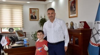 İL MÜDÜRÜ ÇELİK'E ANLAMLI ZİYARET