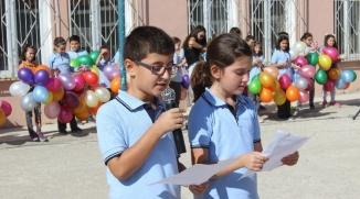 OSMANELİ'DE İLKÖĞRETİM HAFTASI KUTLAMALARI
