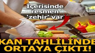İÇERİSİNDE RESMEN ZEHİR VAR