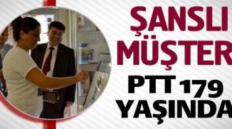 PTT 179 YAŞINDA