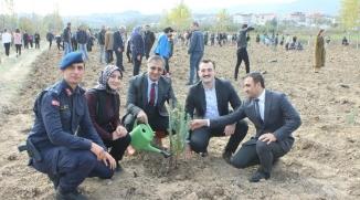 GELECEĞE NEFES KAMPANYASINA OSMANELİ'DEN DE DESTEK