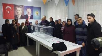 BAYIRKÖY'DE DELEGE SEÇİMLERİ YAPILDI