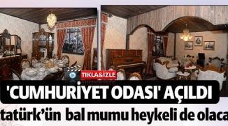 BİLECİK'TE 'CUMHURİYET ODASI' AÇILDI