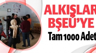 ALKIŞLAR BŞEÜ'YE