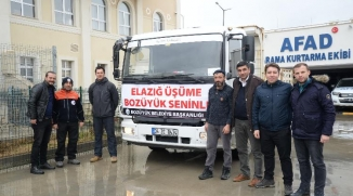 BOZÜYÜK'TE TOPLANAN YARDIMLAR AFAD'A TESLİM EDİLDİ