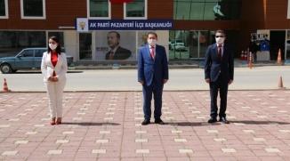 PAZARYERİ'NDE 19 MAYIS KUTLAMALARI ATATÜRK ANITI'NA ÇELENK SUNULMASIYLA BAŞLADI