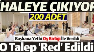 O TALEP 'RED' EDİLDİ