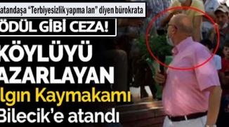 """VATANDAŞA """"TERBİYESİZLİK YAPMA LAN"""" DİYEN BÜROKRATA ÖDÜL GİBİ ATAMA"""