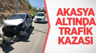 AKASYA ALTINDA TRAFİK KAZASI!
