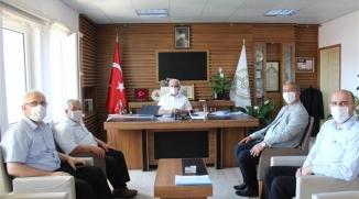 İL GENEL MECLİS ÜYESİ KAYADELEN'DEN İL MÜFTÜSÜ ERHUN'A ZİYARET