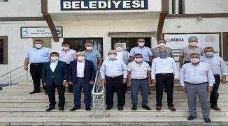 OSMANELİ'NDE YAPILACAK PROJELER DEĞERLENDİRİLDİ