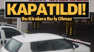 SABAH OTOPARKA GELENLER ŞAŞKINA DÖNDÜ