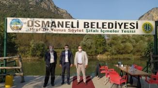 ALTINORDUSPOR'DAN OSMANELİ'YE ZİYARET