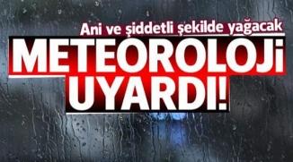 BİLECİK'E METEOROLOJİDEN UYARI