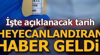 KORONA VİRÜS AŞISI İÇİN SONA GELİNDİ!