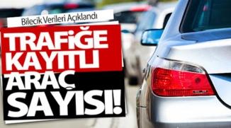 TRAFİĞE KAYITLI ARAÇ SAYISI!