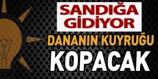 SANDIĞA GİDİYOR