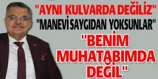 """""""MANEVİ SAYGIDAN YOKSUNLAR"""""""