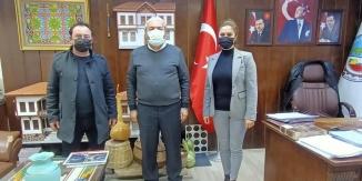 AK PARTİ'DEN BAŞKAN ŞAHİN'E ZİYARET