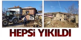 HEPSİ YIKILDI !