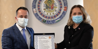 KOSOVA CUMHURİYETİ İSTANBUL BAŞKONSOLOSU NOVOBERDALİU'DAN BİLECİK ZİYARETİ